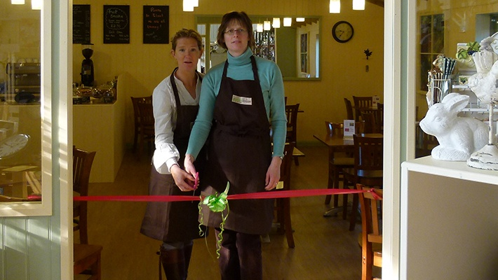 Greenhouse Café opened - Barn Farm Plants Garden Centre